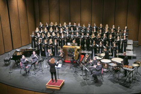 lafayette choir performing