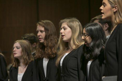 female singers on stage
