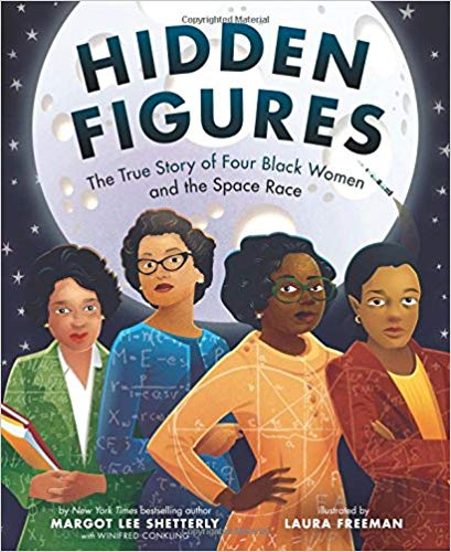 The cover of the book Hidden Figures