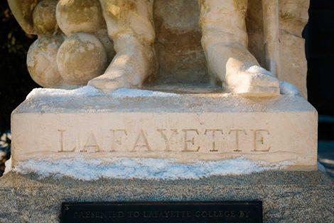 The Marquis de Lafayette statue