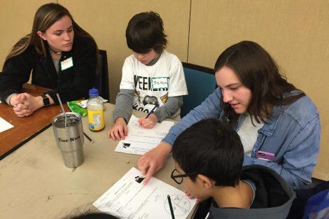 Lafayette College students help Cheston Elementary School children learn.