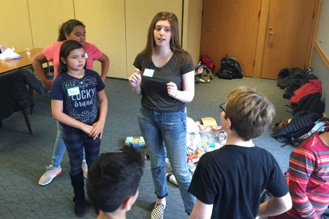 Lafayette College students help Cheston Elementary School children learn.
