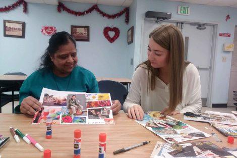Sandra Manfreda learned about social work at her externship