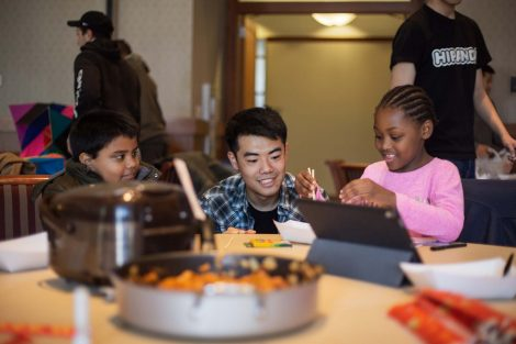 Lafayette student teaches students about South Korea