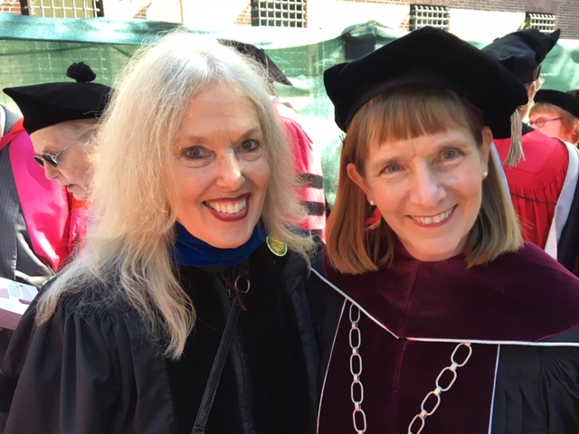 Alison Byerly with mentor Elaine Scarry