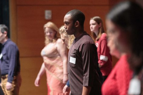 "The artistry of the dance notations was mind blowing, says Sayeed Malami '20, a computer science and government and law double major, and philosophy minor. ""It looks like a painting or a drawing. The intersection of the arts has no limits."""