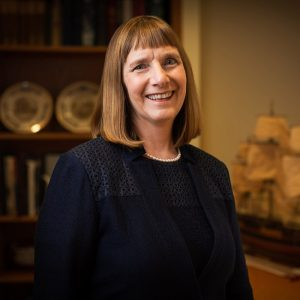 Lafayette College President Alison Byerly