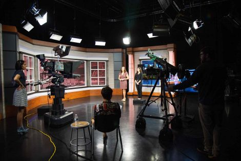 Behind the scenes look at filming at PBS39