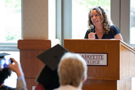 Erica D'Agostino, dean of advising and co-curricular programs, says scholars have been a