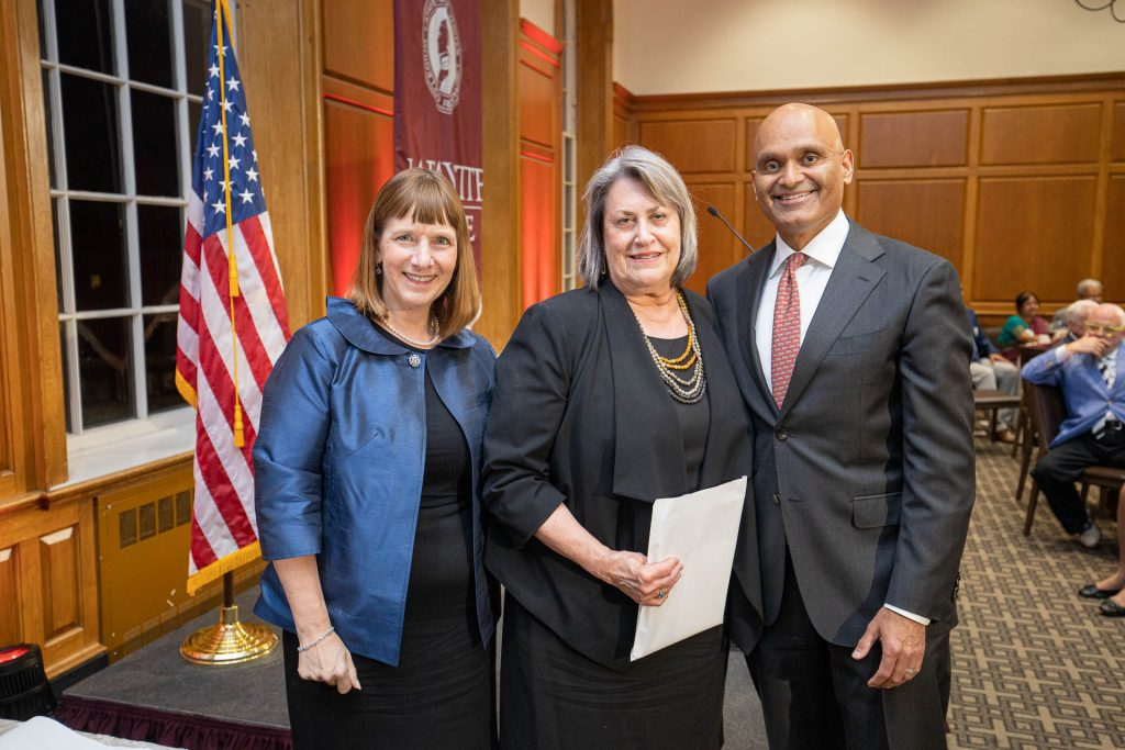 Alison Byerly, Diane Shaw, and Abu Rizvi
