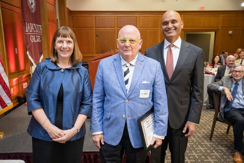 Alison Byerly, Ed Kerns, and Abu Rizvi