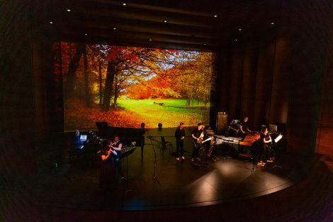 the lafayette contemporary music ensemble performs at the williams center for the arts