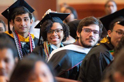 D.C. 8 scholar Ayleen Correa '19 is all smiles