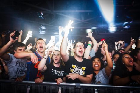 Lafayette students enjoy the annual Spring Concert on May 4 featuring Metro Boomin and Lost Kings in the Kirby Sports Center Arena.