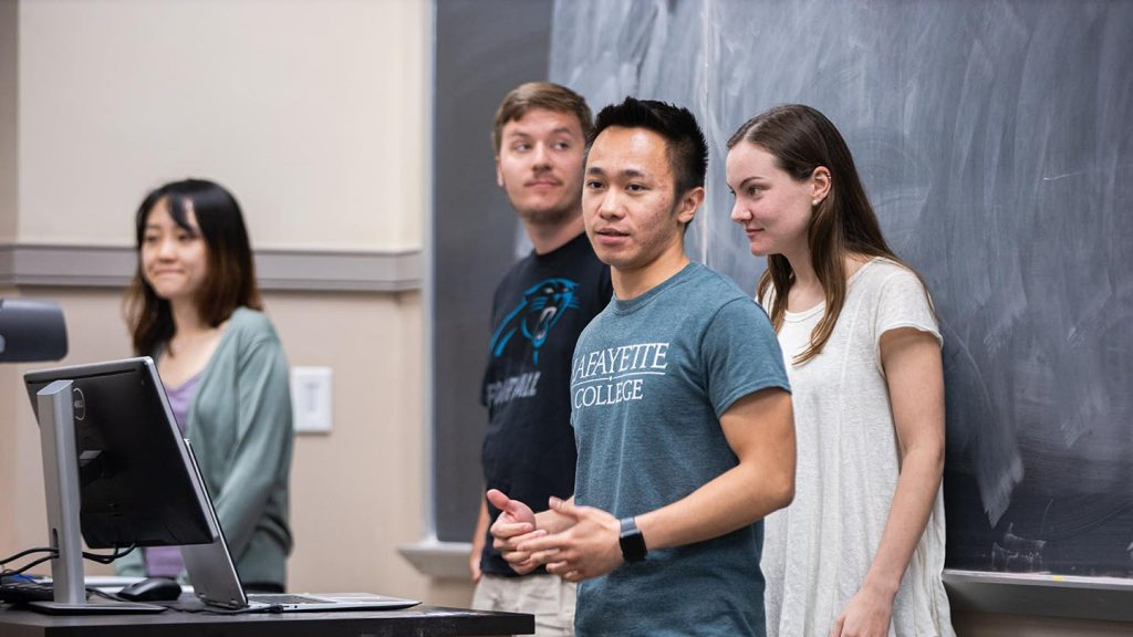Operations Research students present final projects
