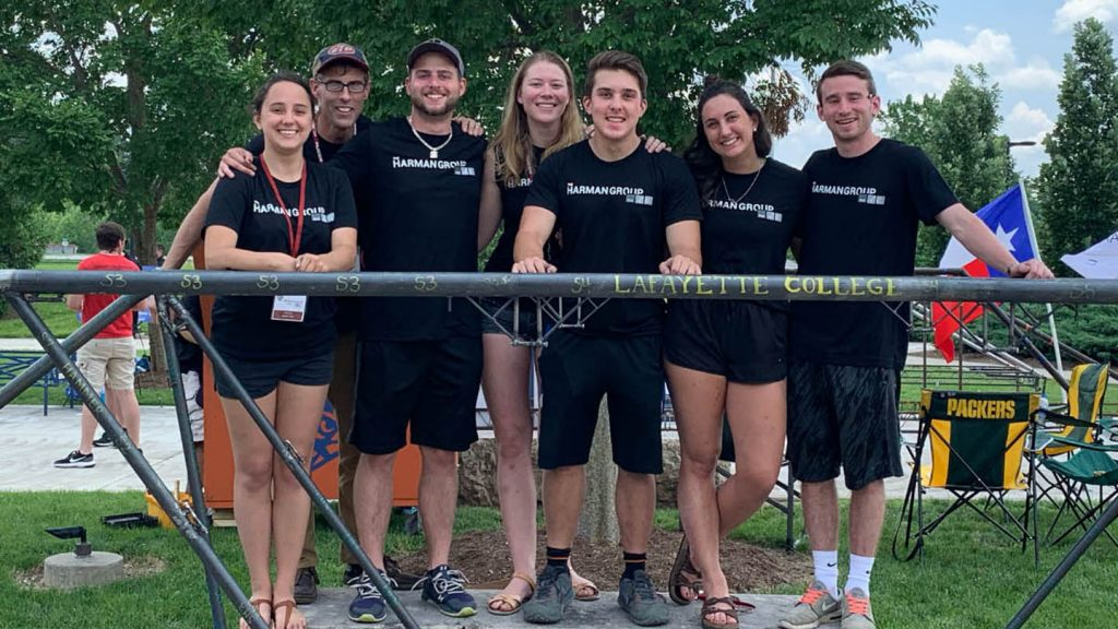 Steel Bridge Team at national championships