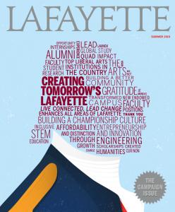 Summer 2019 Lafayette magazine cover