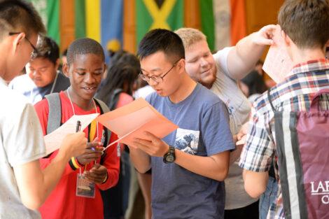 International student orientation