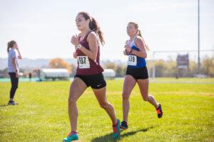 womens cross country runner