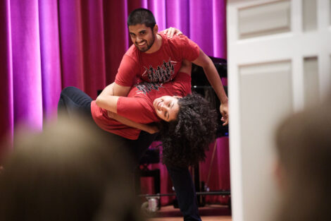 student groups displayed their talents in dance and song at the fall showcase