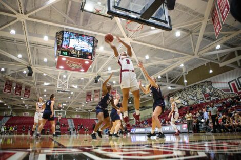 womens basketball versus farleigh dickinson university