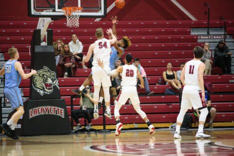 mens basketball versus columbia
