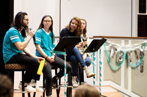 PASA students hold panel discussion