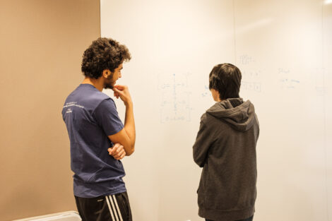 students study in Risc