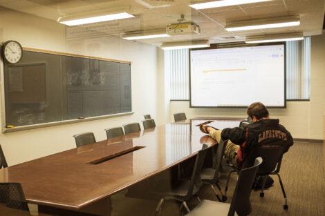 students study in acopian