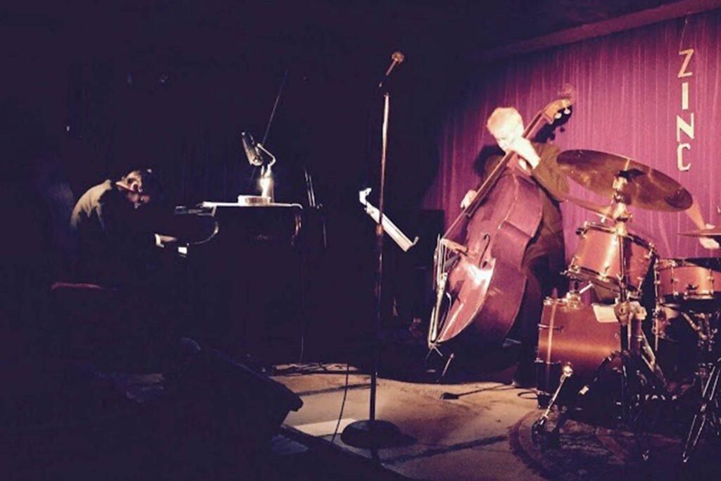 Sean Gough '09 playing with Gene Perla at Zinc Bar in New York City