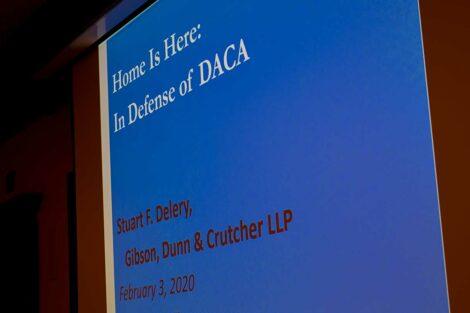 The title slide of Stuart Delery's presentation