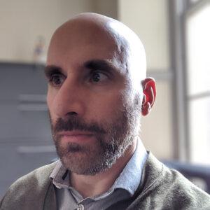 Assistant professor of English Walter Wadiak