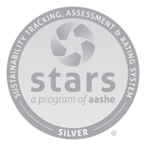 STARS sustainability ranking seal