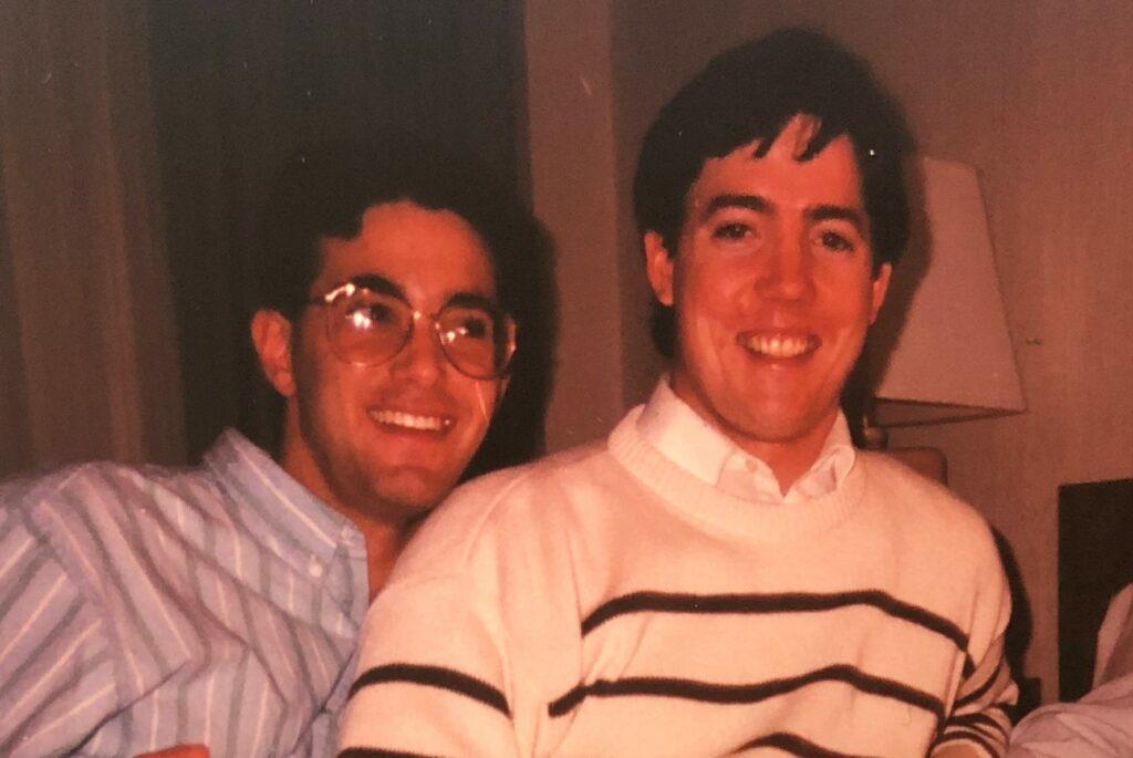 Warren Chaiken (left) and Ed Gibbons