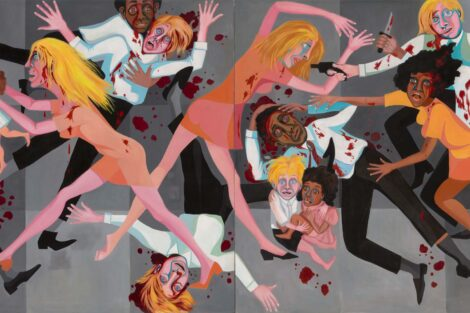 Faith Ringgold's American People #20