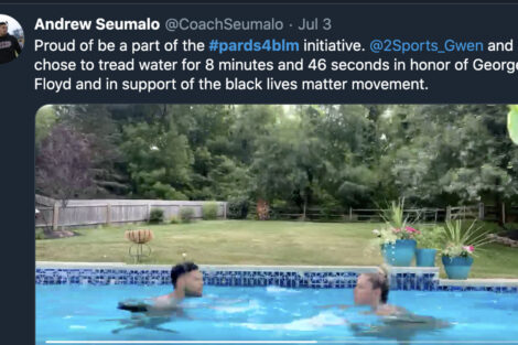 Andrew Seumalo workout