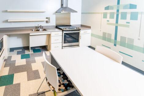 McCartney Street residence kitchen area