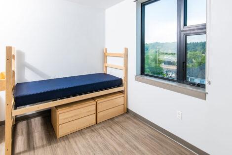 McCartney Street residence bedroom