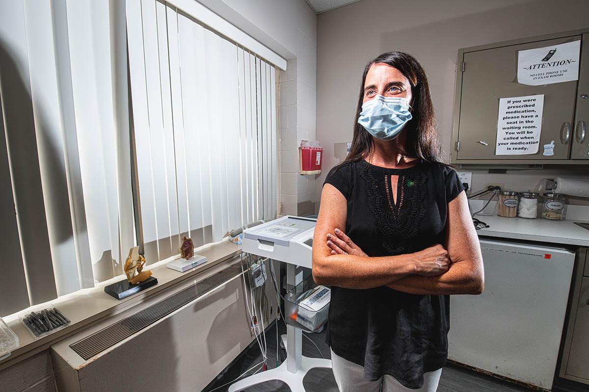 Jodi Schluter in Bailey Health Center