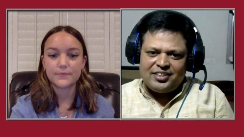 Carly Johnson '24 interviews with Mukesh Tiwari, associate professor at the Dhirubhai Ambani Institute of Information and Communication Technology