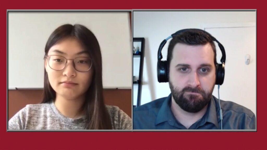 Huslen Dashpurev '22 interviews Matthew Larsen, assistant professor of economics at Lafayette