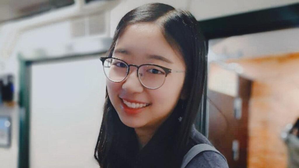 Tina Huang smiles