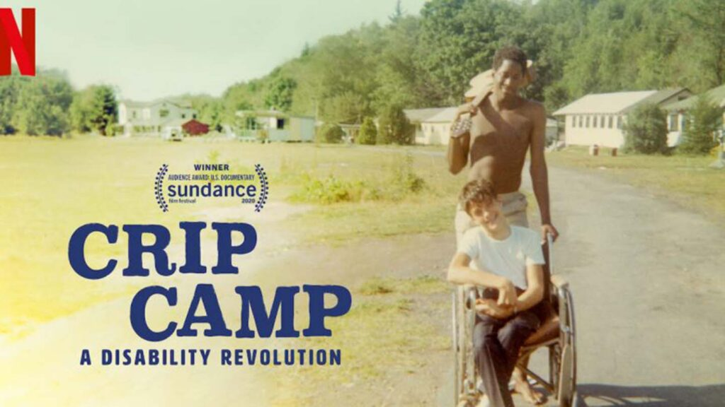 Image from the Nexflix documentary Crip Camp
