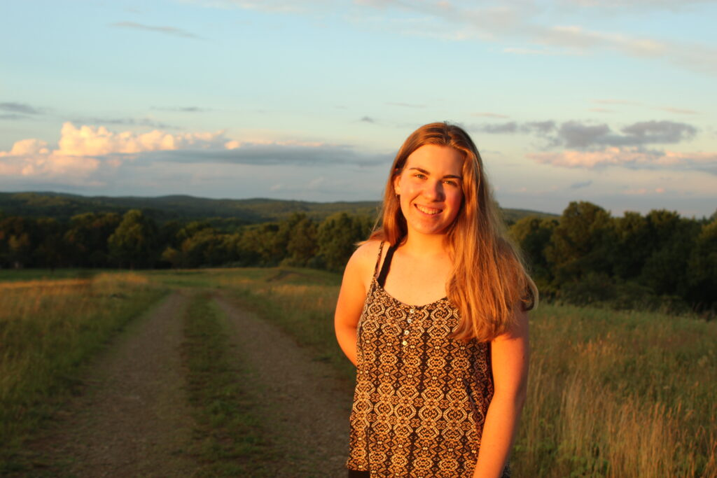 Brooke Paccoine '21 says the Landis Center helped her find her place