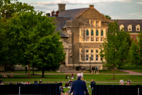 Hogg Hall and Jerry Greenfield