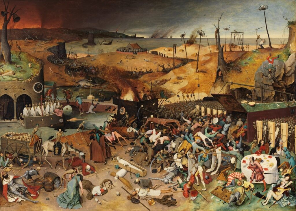 Image of The Triumph of Death by Pieter Bruegel