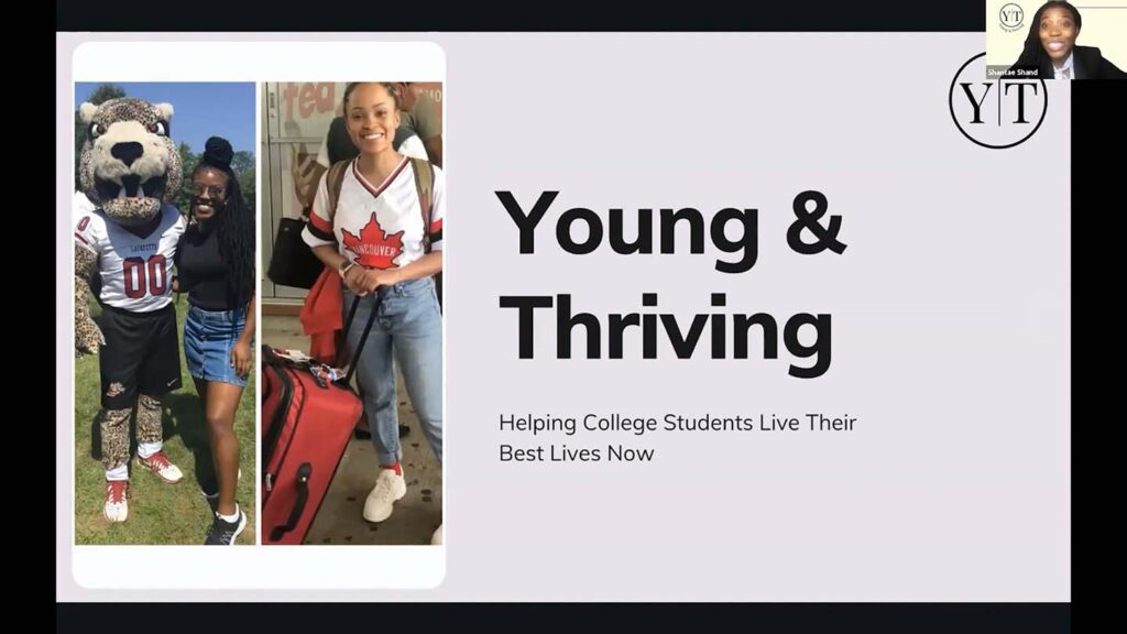 Image of the students who are the founders of the Young & Thriving brand