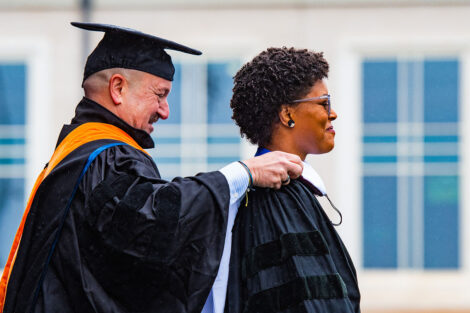 Yolanda Wisher receives honorary degree Commencement 2021