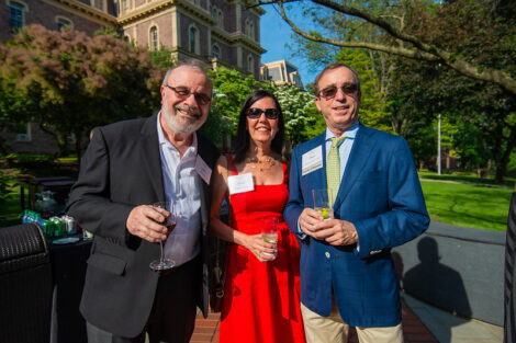 Ilan Peleg, Arlina DeNardo, and Peter Grayson