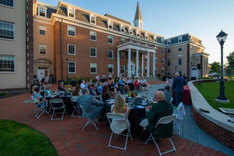 Donahue Garst Plaza Dedication at South College